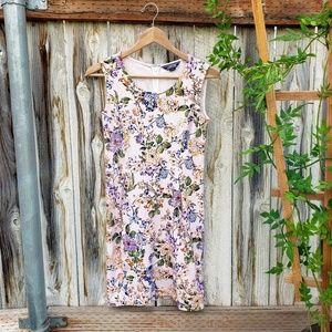 Land's End | Floral Dress | Pink